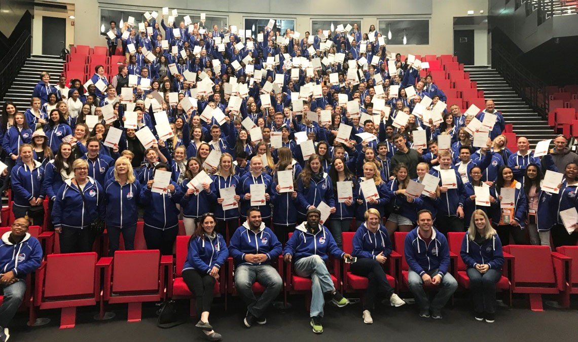 Academic achievers from South Africa at Université Paris-Saclay