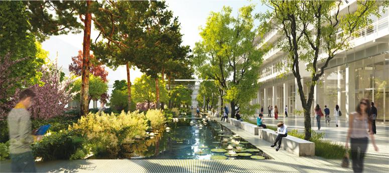 Futurs jardins ENS Paris-Saclay