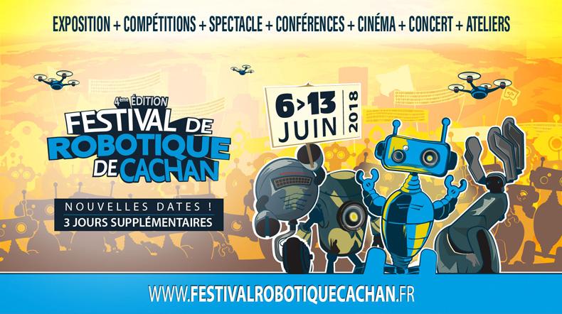 Festival de robotique de Cachan