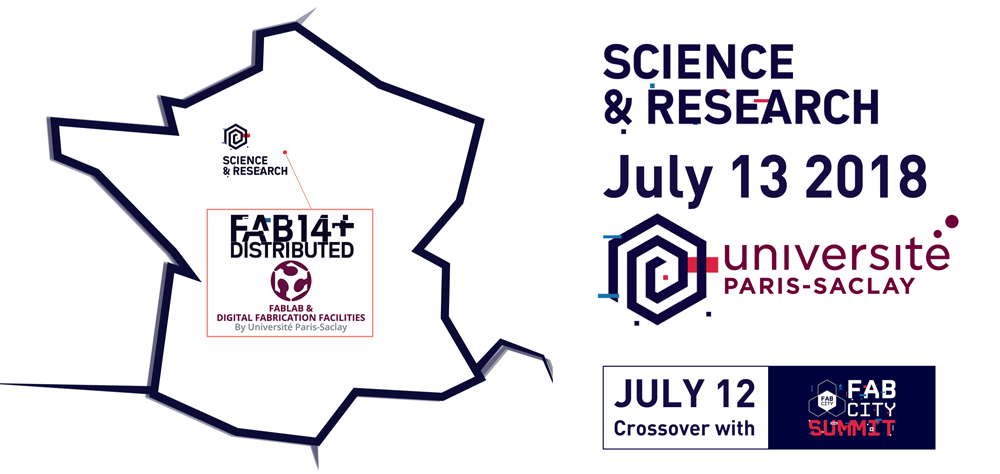FAB14 Distributed Science Research HotSpot de l'Université Paris-Saclay