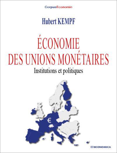 Livre : Economie des unions monétaires