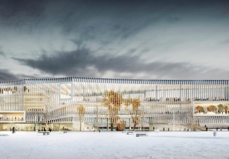 Futur learning center of the Université Paris-Saclay